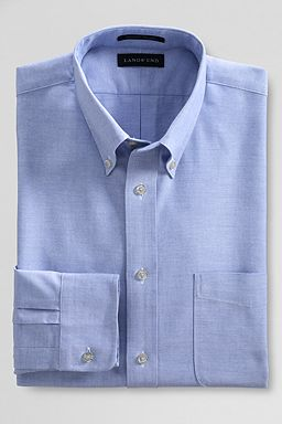 Buttondown Oxford Dress Shirt: Blue