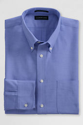 Men's Traditional Fit Oxford Dress Shirt