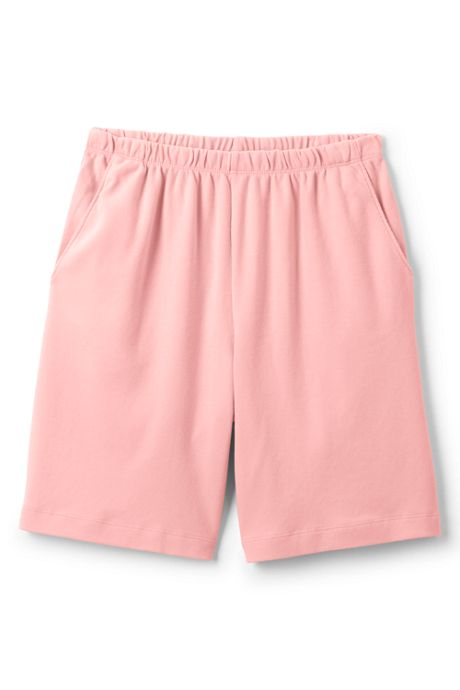 Women's Plus Size Petite Sport Knit Shorts