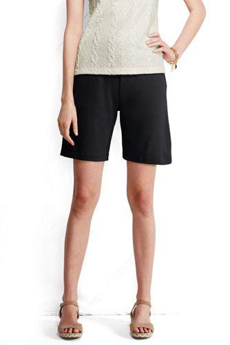 Baumwoll-Jerseyshorts für Damen