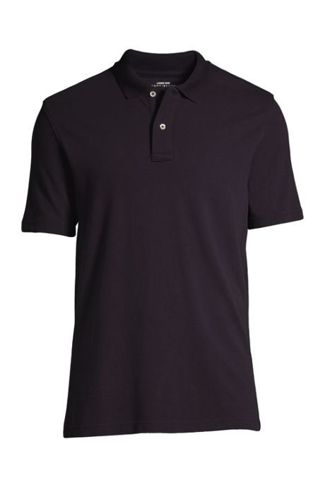 Men's Custom Embroidered Hemmed Short Sleeve Mesh Polo Shirt