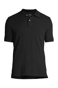 Men's Big Banded Short Sleeve Mesh Polo