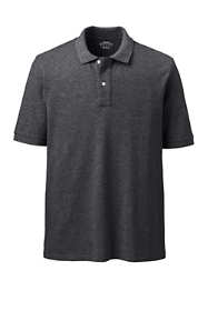 Men's Big Banded Short Sleeve Mesh Polo