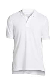Men's Big & Tall Banded Short Sleeve Mesh Polo
