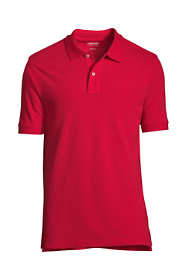 Men's Banded Short Sleeve Mesh Polo