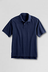 Men's Short Sleeve Classic Banded Mesh Polo Shirt