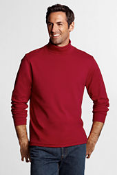 Men's Tall Solid Interlock Turtleneck