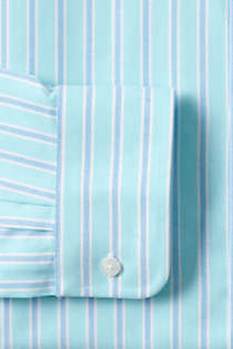 Men's Tailored Fit Pattern Supima Oxford Hyde Park Dress Shirt, Unknown