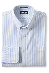 Men's Buttondown Pattern Supima Hyde Park Dress Shirt