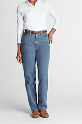 Women's Relaxed Fit Tapered Leg Classic Jeans
