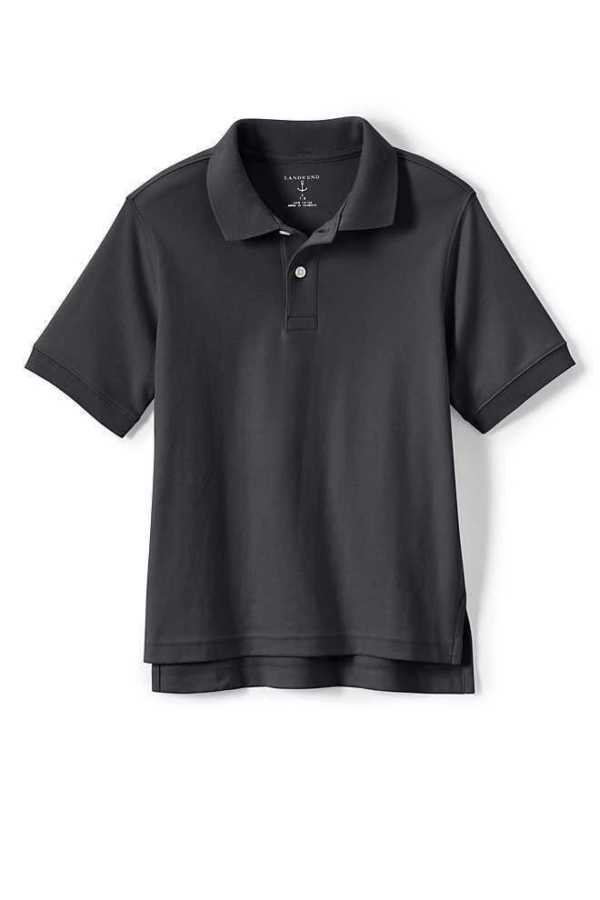 Kids Short Sleeve Interlock Polo Shirt, Unknown
