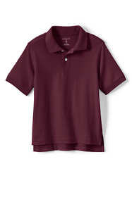 Kids Short Sleeve Interlock Polo Shirt