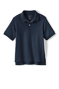 85e250d0f4 School Uniform Kids Short Sleeve Interlock Polo Shirt