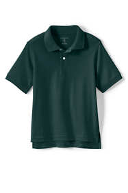 Little Kids Short Sleeve Interlock Polo