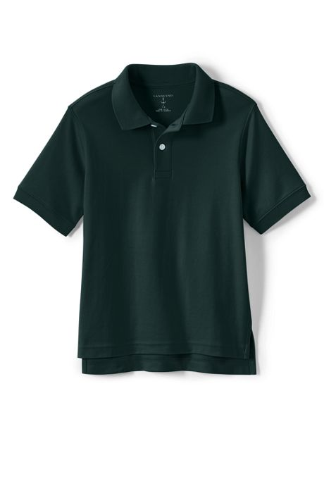 Kids Husky Short Sleeve Interlock Polo