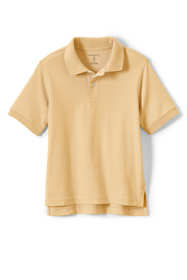 Little Kids Short Sleeve Interlock Polo Shirt