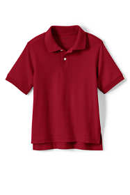 School Uniform Kids Short Sleeve Interlock Polo Shirt