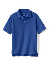 Kids' Short Sleeve Solid Performance Mesh Polo Shirt