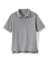 School Uniform Short Sleeve Solid Performance Mesh Polo Shirt