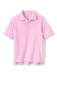 School Uniform Little Kids Short Sleeve Performance Mesh Polo