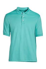 School Uniform Men's Banded Short Sleeve Pima Polo
