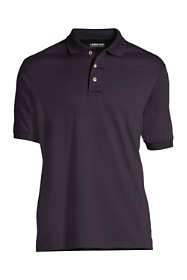 School Uniform Men's Banded Short Sleeve Pima Polo