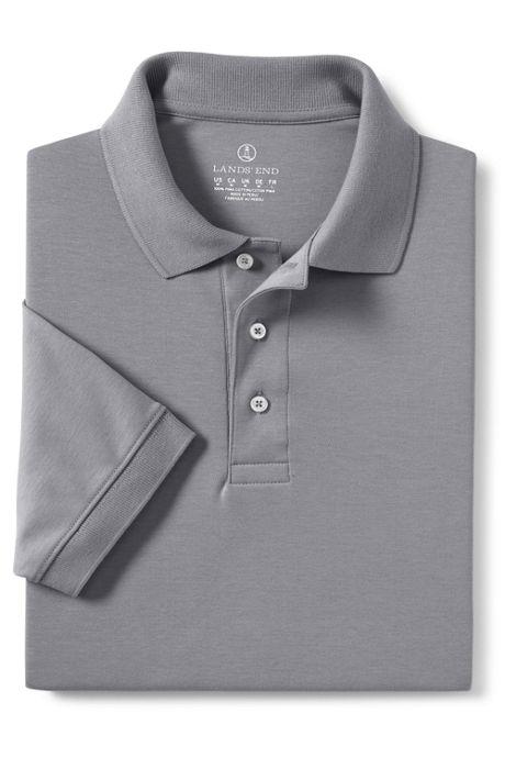 Men's Banded Short Sleeve Pima Polo