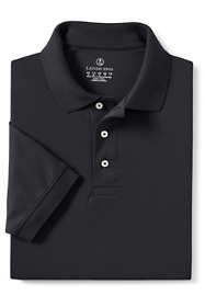 Men's Tall Banded Short Sleeve Pima Polo