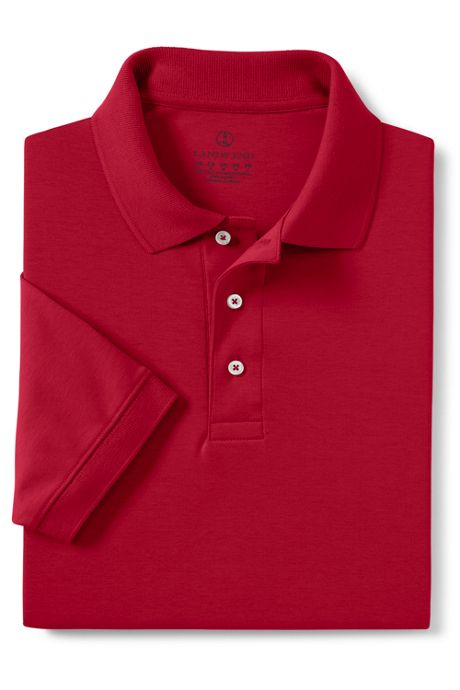 Men's Banded Short Sleeve Pima Polo