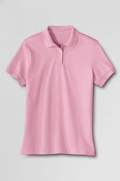 Women's Short Sleeve Natural Pima Polo Shirt