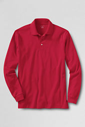Men's Long Sleeve Performance Pima Polo Shirt