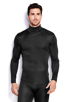 Men's Silk Interlock Thermal Roll Neck