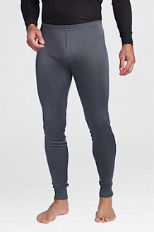 Men's Silk Interlock Thermal Longjohns