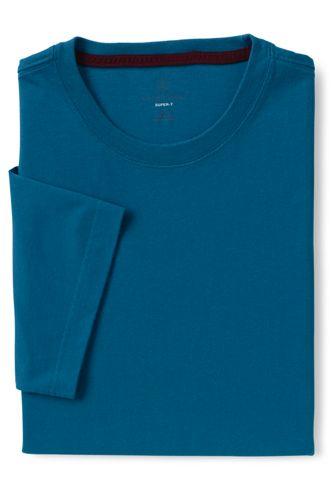 Le T-Shirt Super-T Original Uni À Manches Courtes Homme, Taille Standard