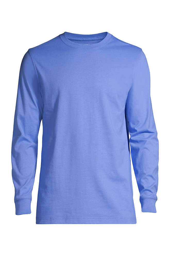 Men's Big and Tall Super-T Long Sleeve T-Shirt, Front