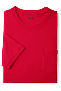 Men's Tall Super-T Short Sleeve T-Shirt with Pocket, Unknown