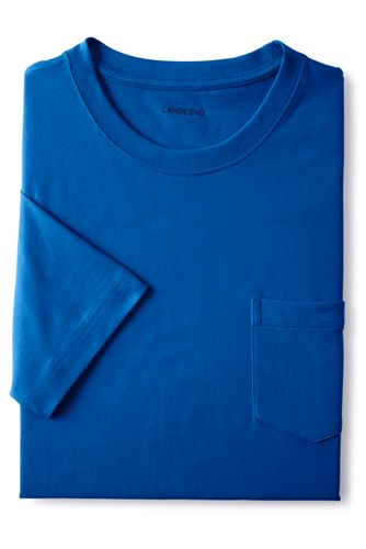 Men's Tall Super-T Short Sleeve T-Shirt with Pocket