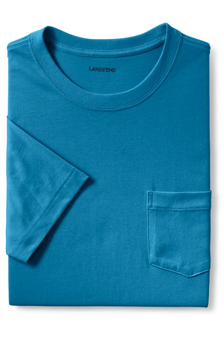 Men's Tall Super-T Short Sleeve T-Shirt with Pocket
