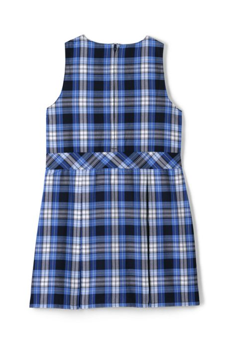 School Uniform Girls Uniform Plaid Jumper
