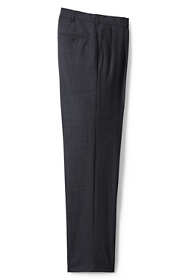 Men's Big and Tall Traditional Fit Pleated Year'rounder Wool Dress Pants