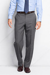 Men's Plain Front Traditional Fit Year'rounder Dress Pants