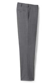 Men's Long Traditional Fit Year'rounder Wool Dress Pants