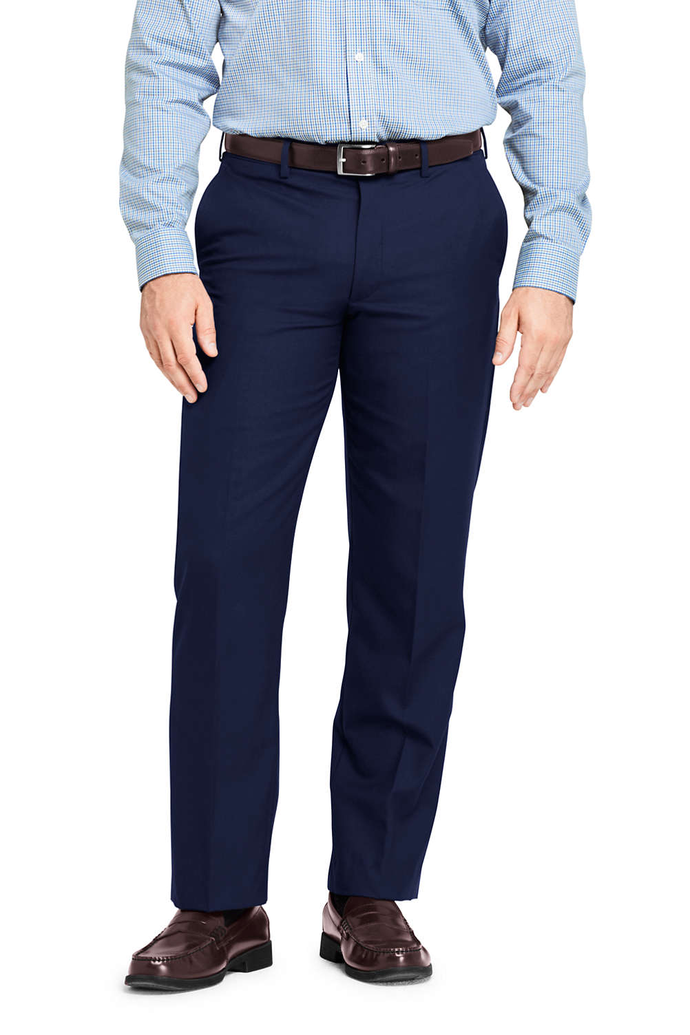 4ba37d9d Men's Traditional Fit Year'rounder Wool Dress Pants from Lands' End