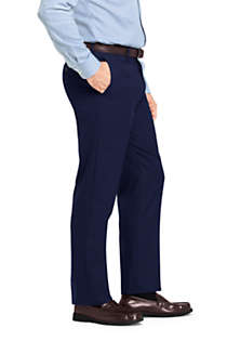 Men's Long Traditional Fit Year'rounder Wool Dress Pants, Unknown