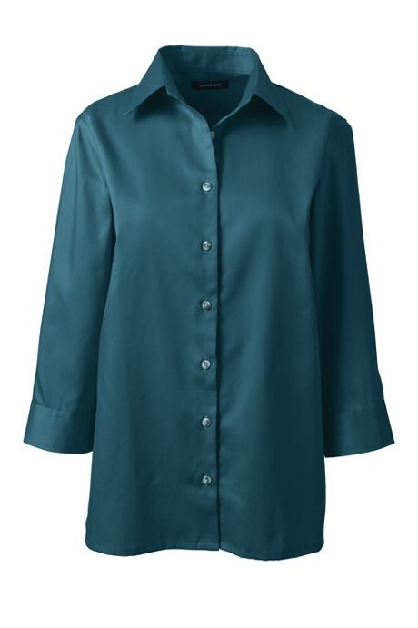 Women's 3/4 Sleeve Performance Twill Shirt