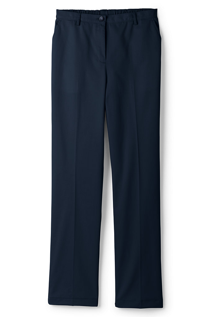 Women's 7 Day Elastic Back Comfort Waist Pants