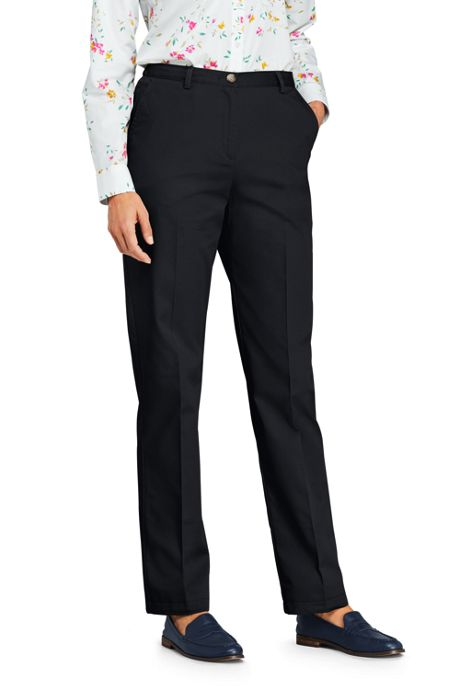 Women's 7 Day Elastic Back Comfort Waist Pants