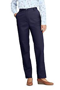 aa9819e2d61c3 Women's Pants | Black & White Dress Pants Cotton | Lands' End