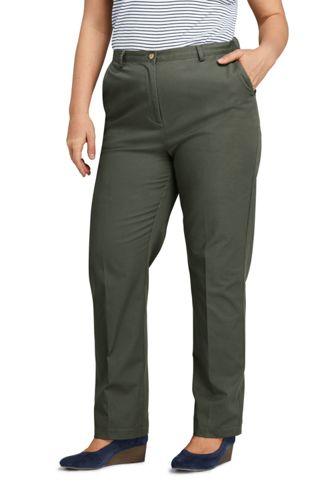 a4f813c5bd6 Women s Plus Size 7 Day Elastic Back Pants