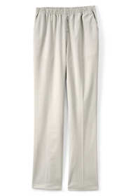 Women's Plus Size Petite 7 Day Elastic Waist Pull On Pants